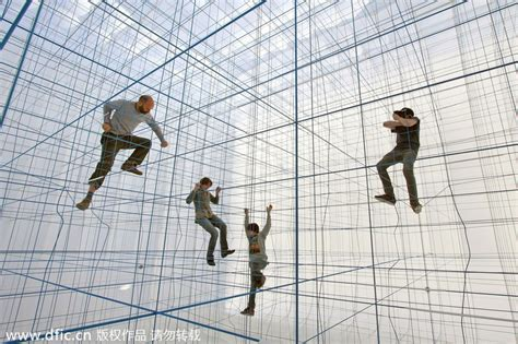 jungle gym cube helps men climb and explore 1 chinadaily