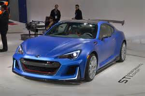 Subaru Cing Subaru Brz Sti Performance Concept Debuts At New York Auto