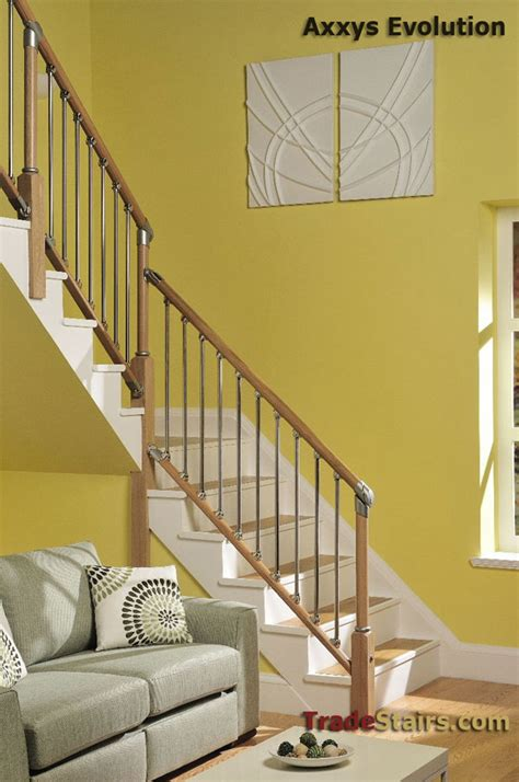 Oak Handrail Axxys Evolution Axxys Handrail Axxys Stairparts