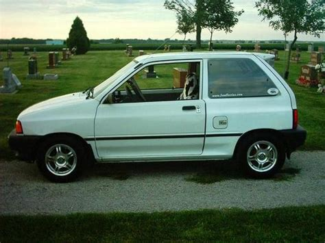 how to learn about cars 1990 ford festiva instrument cluster packrat427 s 1990 ford festiva in decatur il