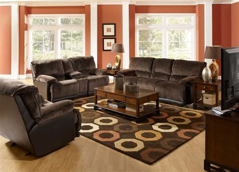 living room decor ideas with brown furniture all design idea