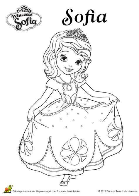 Free Sofia The Princess Coloring Pages Sofia Princess Coloring Pages