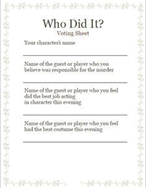Inspired By The Murder Mystery Game Of Clue This Scavenger Hunt Takes It To The Next Level No Murder Mystery Dinner Template