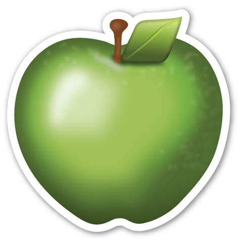 emoji apple green apple apples emojis and emoji stickers