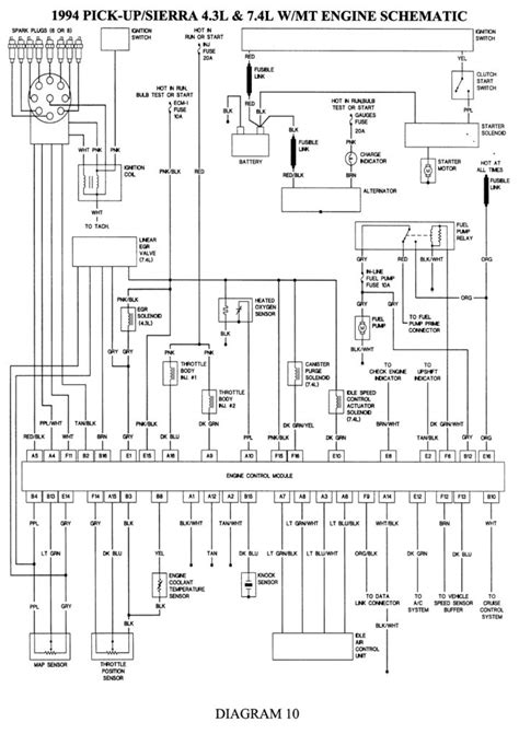 2005 gmc wiring diagram wiring diagram and
