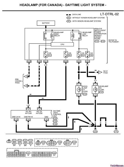 nissan an trailer wiring diagram wiring diagram and