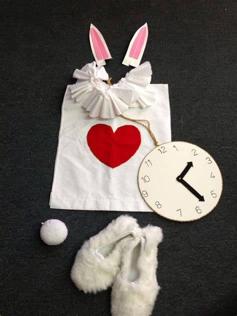 Handmade Disney Costumes - best 25 white rabbit costumes ideas on