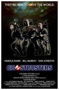 original ghostbusters poster ghostbusters movie poster by jhroberts on deviantart