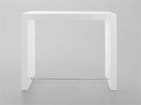 White Gloss Meeting Table Block Bar Table In White High Gloss Finish From Dansk Conference Room Pinterest High Gloss