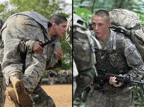 female us army rangers meet the first female army rangers people com