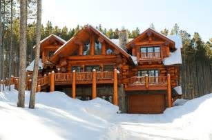 Rustic exterior denver by mountain log homes of co inc