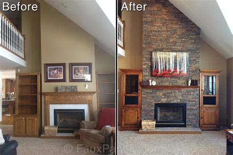 how to resurface a fireplace quickly easily creative