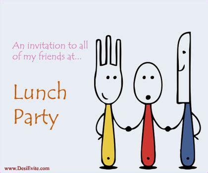 free lunch invitation e card invitations