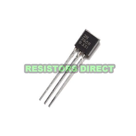 transistor pnp arduino 50pcs 2n3906 pnp transistors to 92 arduino raspberry pi bjt signaling ebay