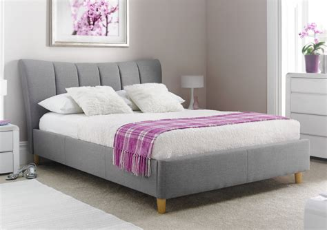 double upholstered headboard awesome double bed frame for shared room design