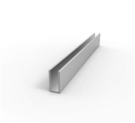 1 x 2 aluminum u channel eagle mouldings aluminum channel aluminum channel 1 1