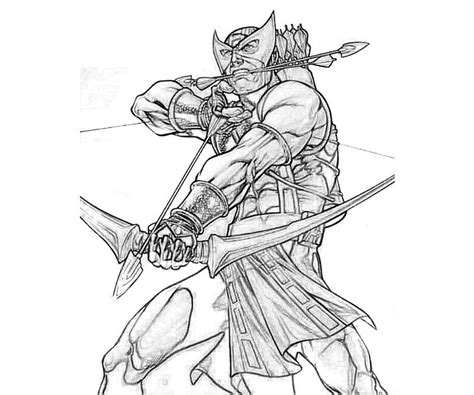 Collection of Lego Hawkeye Coloring Page | Hawkeye Coloring Pages ...