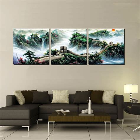 home decoration pieces home decoration 3 pieces no frame art picture canvas