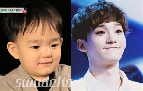 download mp3 baby exo k exo s chen to finally meet baby doppelganger daeul on