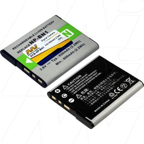 Sonynp Bn1 sony np bn1 np bn digital replacement battery au