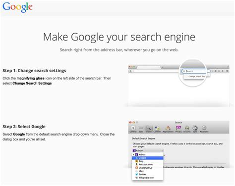 House Search Engines by Suggesting Firefox Users Change Their Search Engine