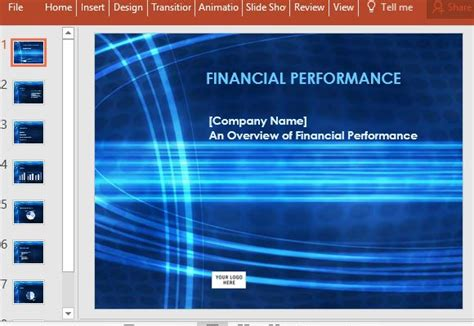 financial reporting powerpoint templates financial report powerpoint template