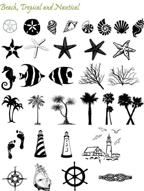 design motif font 17 best ideas about beach tattoos on pinterest small