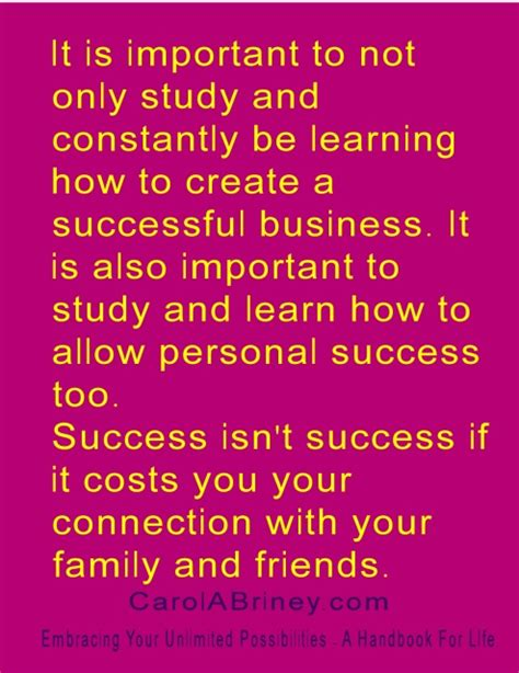 Is Mba Necessary To Be Successful In Business by Carolabriney 187 Success Is Not Success If It Costs You