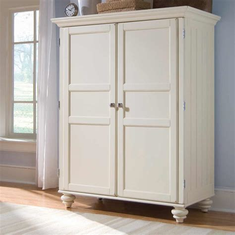 White Closet Armoire by White Armoire Cheap Armoire Desk In White