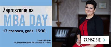 W Day Mba by Mba Day W Wsb W Toruniu Dni Otwarte Na Uczelniach Dni
