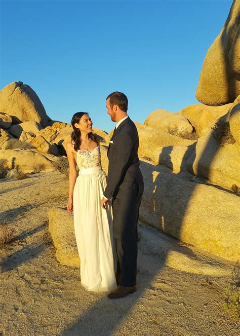 Wedding Ceremony Joshua Tree by Elope In Joshua Tree Joshua Tree Wedding Officiant