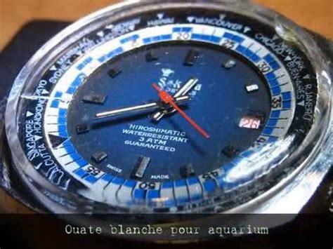 Plastik Uhrenglas Polieren by My Montre Polir Le Verre De Sa Montre Polywatch