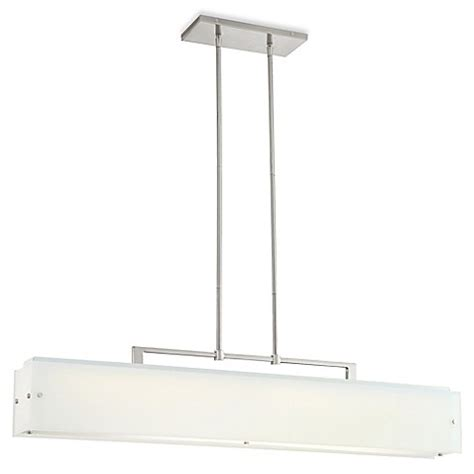 George Kovacs Lighting Fixtures George Kovacs 174 Button Light Fixtures In Brushed Nickel With Glass Shade Bed Bath Beyond