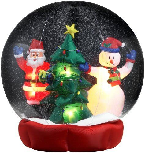 inflatable christmas snow globes christmas inflatable