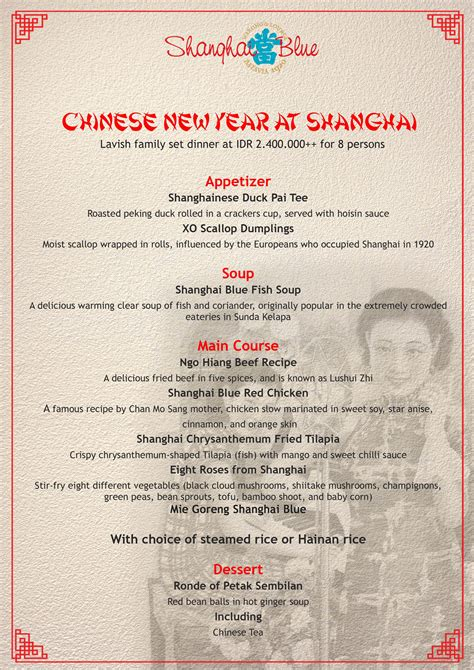 grand shanghai new year menu grand shanghai new year menu 28 images new year menu