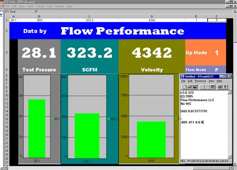 flow data flow bench flow bench software
