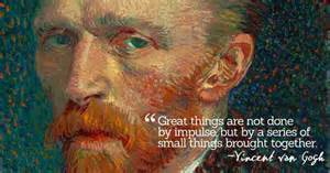 inspirational quotations by vincent van gogh a pr 233 cis of