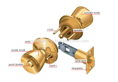 Parts Of Door Lock by House Elements Of A House Lock Tubular Lock Image