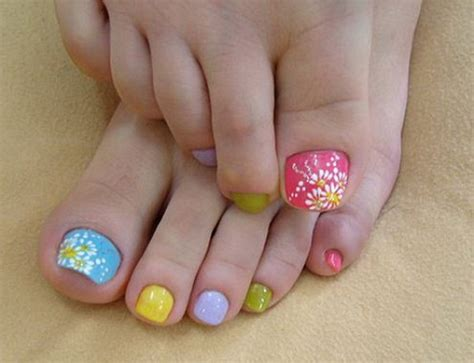 what color toes are in this spring simple nail art designs for beginners 365greetings com