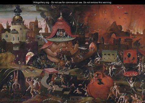hieronymus bosch painter and the harrowing of hell after hieronymus bosch