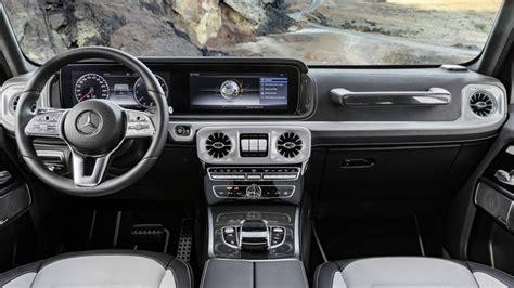 mercedes g wagon interior 2019 mercedes g class here s the g wagen s interior