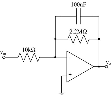 integrator output calculation ee 212l op differentiators and integrators