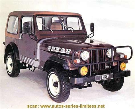 renault jeep les renault s 233 ries sp 233 ciales