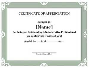 Certification Letter Template Word 31 free certificate of appreciation templates and letters