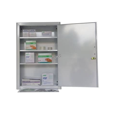 wall mounted first aid cabinet empty wall mounted metal first aid cabinet with solid panel door