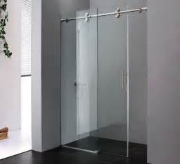 glass barn doors minimalist bathroom with sliding