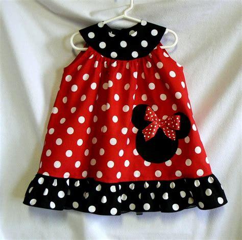 Dress Jw 13 Minnie Mouse D minnie mouse inspired dress applique ruffled dress