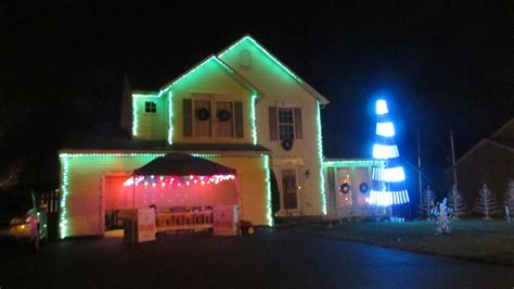 holiday light show a labor of love for one brewerton
