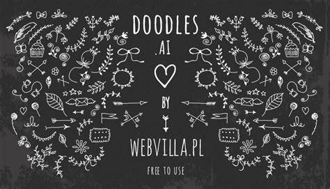 free doodle fonts photoshop free floral laurels arrows and wreaths vector design