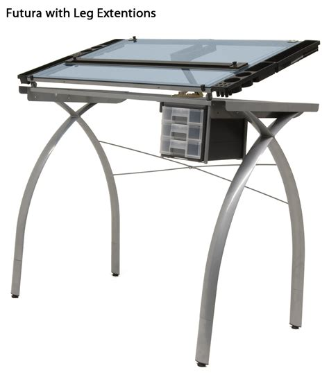 studio drafting table studio rta designs glass top futura drawing drafting table